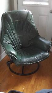 Chaise confortable rembourré