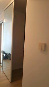 Mirror Sliding Doors / Closet doors - negotiable