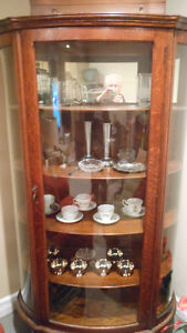Beautiful Antique China Cabinet - $450. OBO