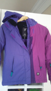 Orage Girls Winter Jacket  and Snow pants & Rain Jacket, S