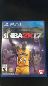 NBA 2k17 PS4 *Unused Condition*