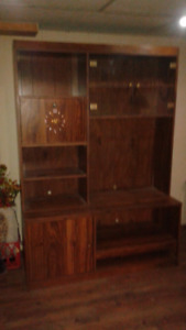 2 Piece Wall Unit