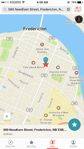 Parking Spaces for Rent in the Downtown Core of Fredericton