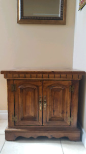 Hall table/cabinet