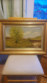 Antiques oil painting