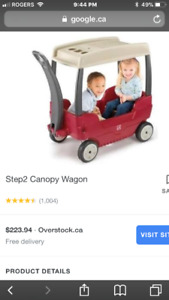 Step 2 Canopy Wagon For Sale