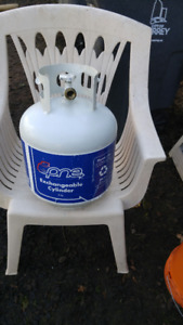 refillable propane tank