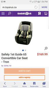 Safety 1st guide 65 TRON carseat