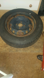 Fiat 500 tyre
