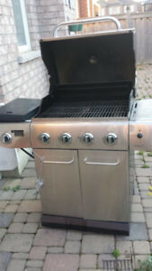 Gas BBQ with 2 cylinders $95 Only
