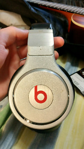 Beats pro headphones, with original auxiliary cord.