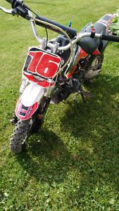 Pit bike kdf 70cc