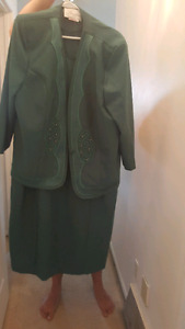 Gorgeous dress plus jacket.  Worn once.  Size 20