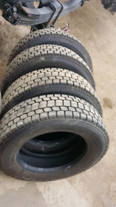 BRIDGESTONE 225/70R 19.5 LOW PROFILE TIRES