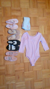 Ballet shoes and outfit