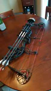 2014 Bowtech Carbon Knight LEFT HAND  draw, perfect condition!