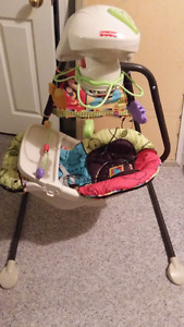 Baby swing, bouncy seat and play mat