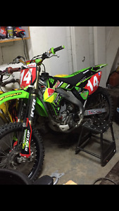 Very clean 2008 kx250f with ownership