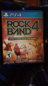 Rockband 4 for ps4 with Guitar