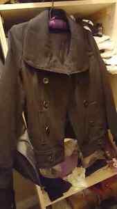 Le chateau Black Wool Pea Coat  Size XXS Regina Regina Area image 1
