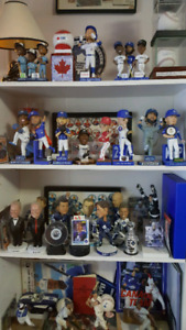BOBBLE HEADS  BLUE JAYS  LEAFS