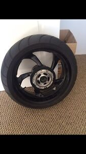 2009 Yamaha Vmax Rear Wheel+Tire