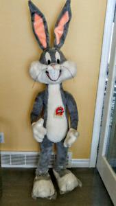 5 Ft.  Plush Bugs Bunny 50th Aniversay (Rare Mint)