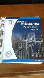 PanGlobal Power Engineering Fourth Class Textbooks, Full Set