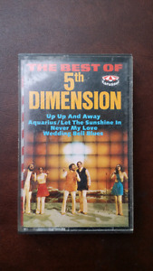 Cassette BEST OF THE 5TH DIMENSION