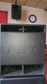Fbt subline 15inch powered base bins.
