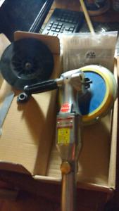 "Mac Tools high 7"" high speed sander/polisher"