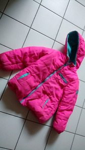 Girl winter jacket size 6