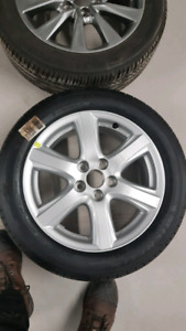 "17"" 5.114 alloy rims"