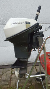 Johnson 9.5 HP outboard
