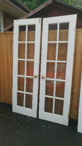 Interior French Doors--excellent condition-!