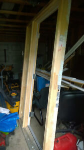 """Seymour 36"""" Door with Left Side Casing Only"""