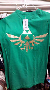 The Legend Of Zelda Gold Triforce Slim-Fit T-Shirt Size Small