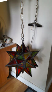 Star Stained Glass Lights