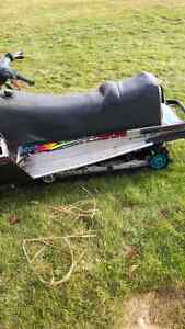 Polaris 2 up seat with gas tank connected.SEAT ONLY Strathcona County Edmonton Area image 2