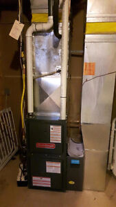 2 new furnaces installed