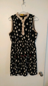 Lot of 5 cute dresses - pinup, sculls and retro styles