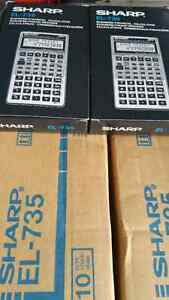 Brand New Sharp  Business /Financial  Calculators