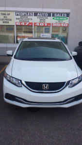 2014 Honda civic.automatic.Ex finance available