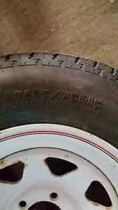 Trailer Tire and Rim - New