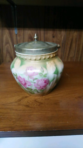 Vintage bisque cookie jar