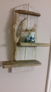 Small rustic shelf