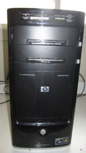 HP Tower Quad-Core With Fresh Windows 10 and Warranty