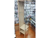 Standing glass cabinet
