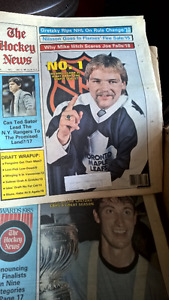 Hockey News issues from 1982 to 1995 (386 issues)