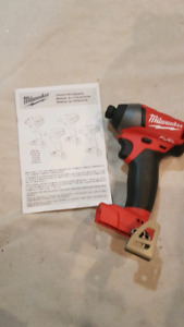 New second generation milwaukee feul impact driver